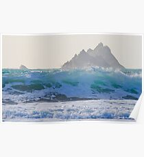 Skelligs Wave Poster