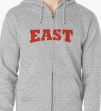 EAST Zipped Hoodie