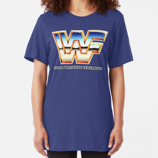Back to the 80s WWF style Slim Fit T-Shirt