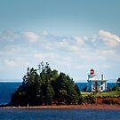 Blockhouse Point Lighthouse, Prince Edward Island by Steve Borichevsky