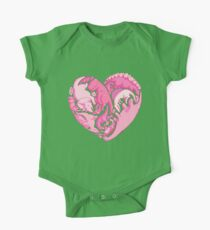Loveasaurus Short Sleeve Baby One-Piece