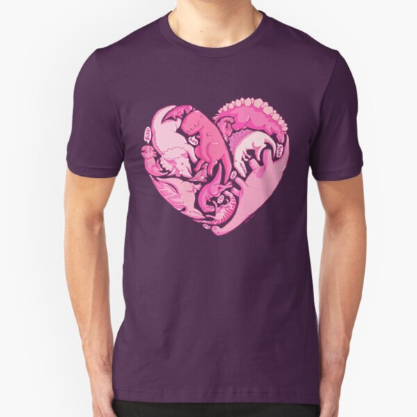 Loveasaurus Slim Fit T-Shirt