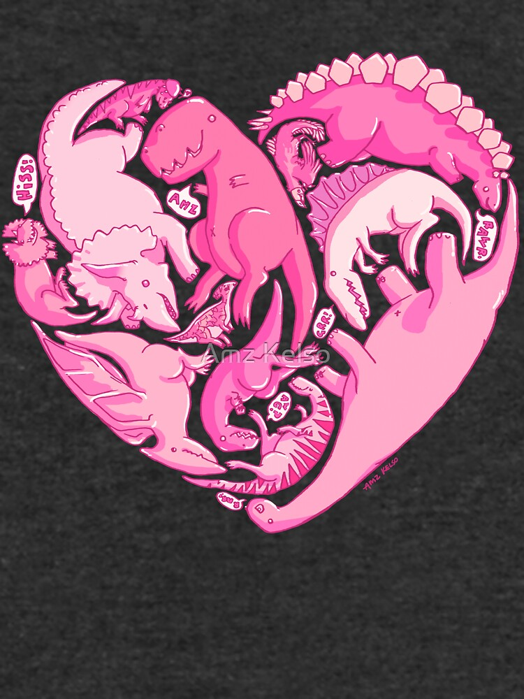 Liebesasaurus von AmzKelso