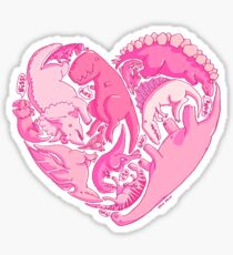 Loveasaurus Sticker