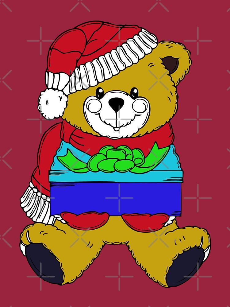Christmas Teddy Bearing Gifts by MikeHawkinWorld