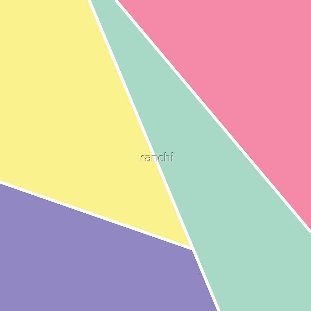 Pastel Color Block by ranchi