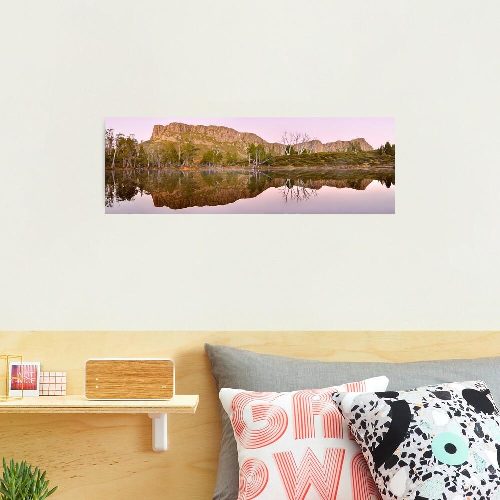 Pre-dawn Glow, Walls of Jerusalem, Tasmania, Australia Photographic Print
