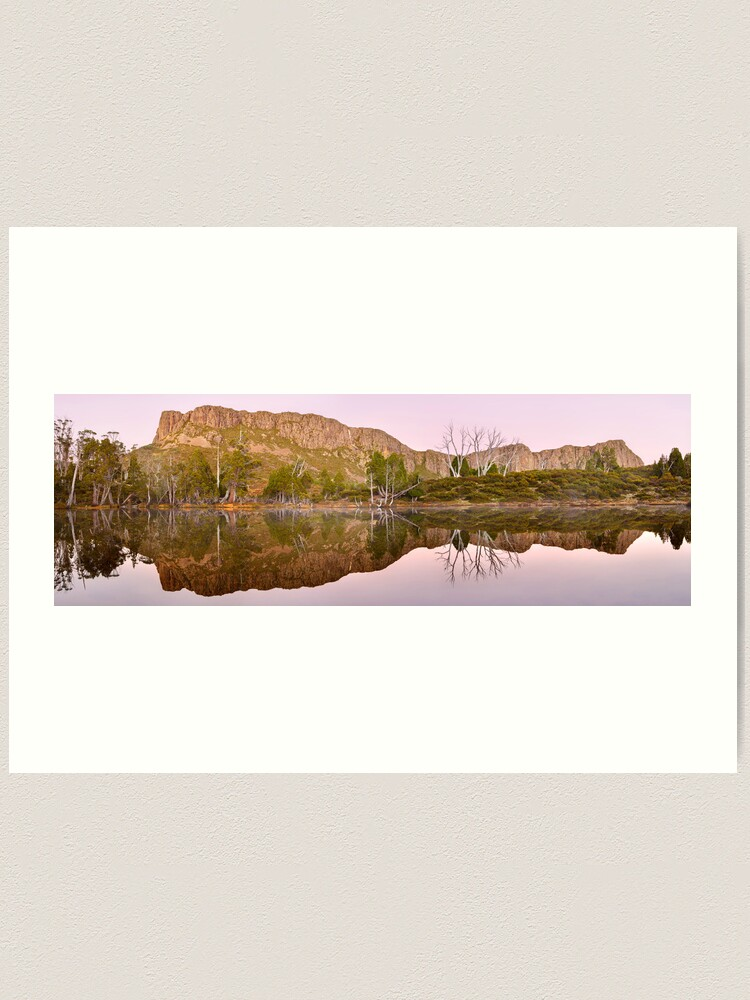 Alternate view of Pre-dawn Glow, Walls of Jerusalem, Tasmania, Australia Art Print