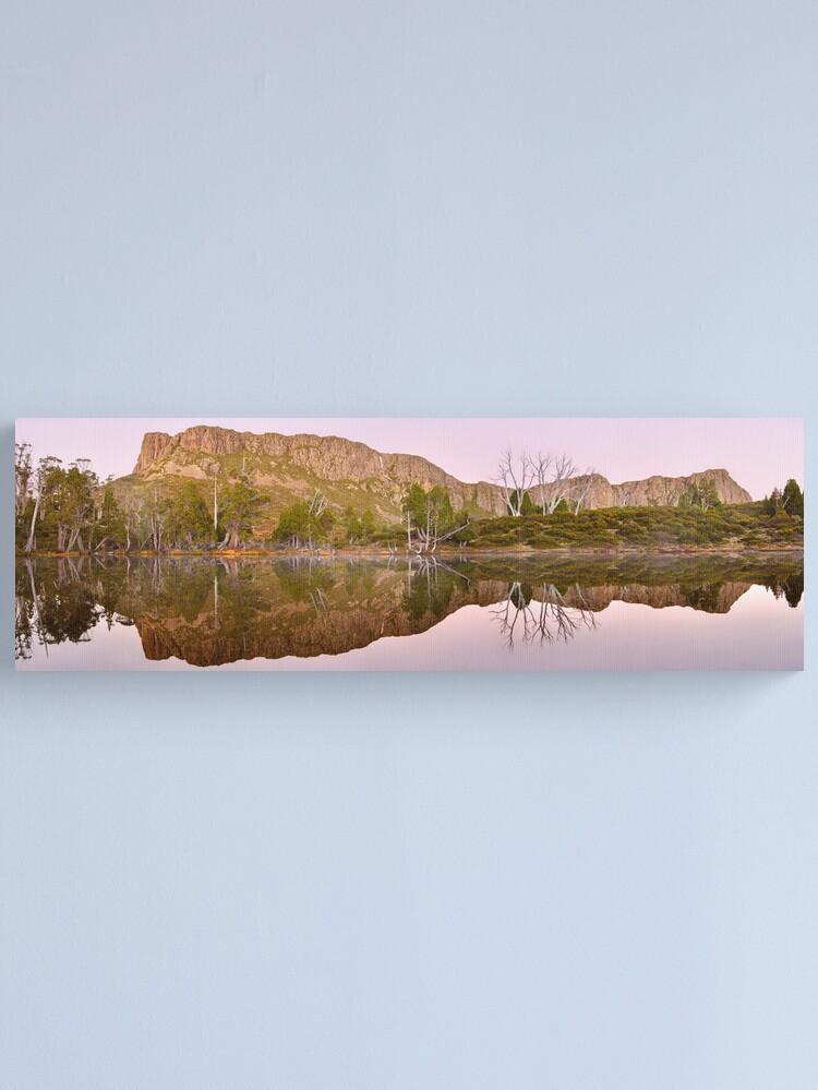Alternate view of Pre-dawn Glow, Walls of Jerusalem, Tasmania, Australia Canvas Print