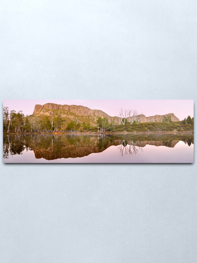 Alternate view of Pre-dawn Glow, Walls of Jerusalem, Tasmania, Australia Metal Print