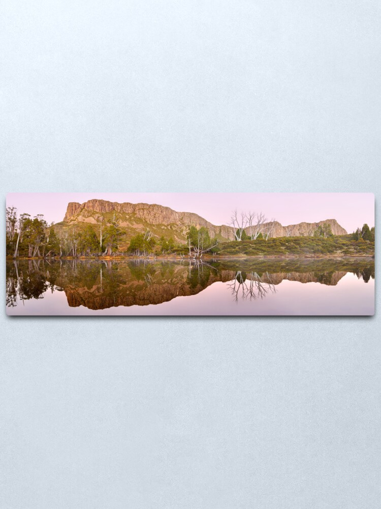 Alternate view of Pre-dawn Glow, Walls of Jerusalem, Tasmania, Australia Metal Print