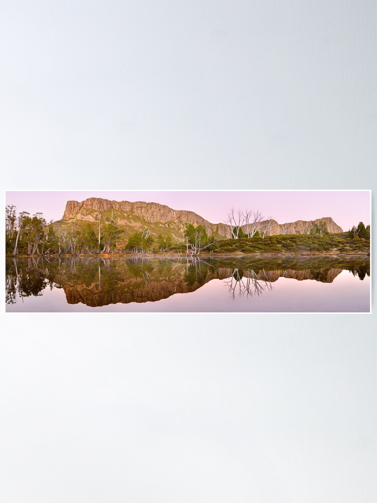 Alternate view of Pre-dawn Glow, Walls of Jerusalem, Tasmania, Australia Poster