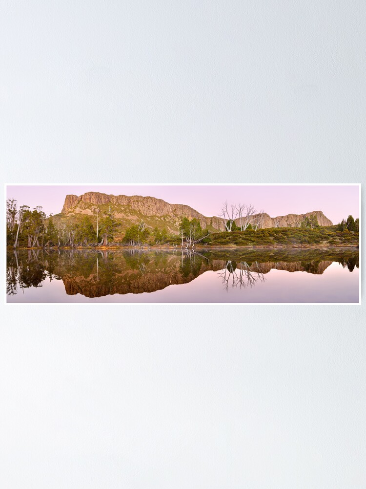 Alternate view of Pre-dawn Glow, Walls of Jerusalem, Tasmania, Australia Poster
