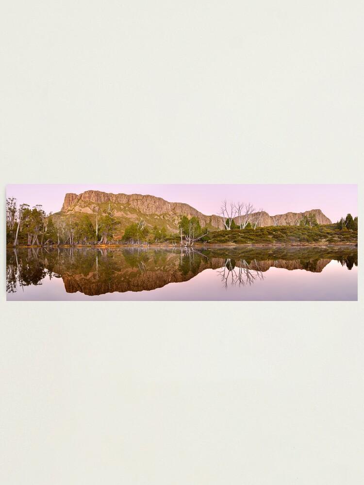 Alternate view of Pre-dawn Glow, Walls of Jerusalem, Tasmania, Australia Photographic Print