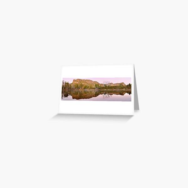 Pre-dawn Glow, Walls of Jerusalem, Tasmania, Australia Greeting Card