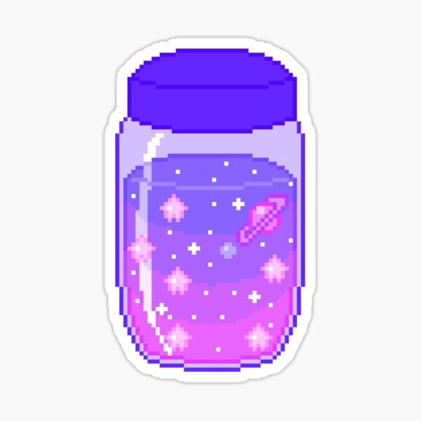 Pixel Magic Jar Sticker