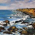 Early March at Arena Lighthouse California Coast by TerrillWelch
