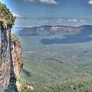 Jamison Valley, Katoomba, NSW, Australia  by Adrian Paul