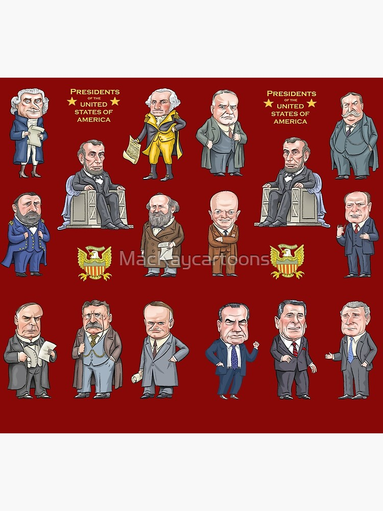Republican Presidents of the United States by MacKaycartoons