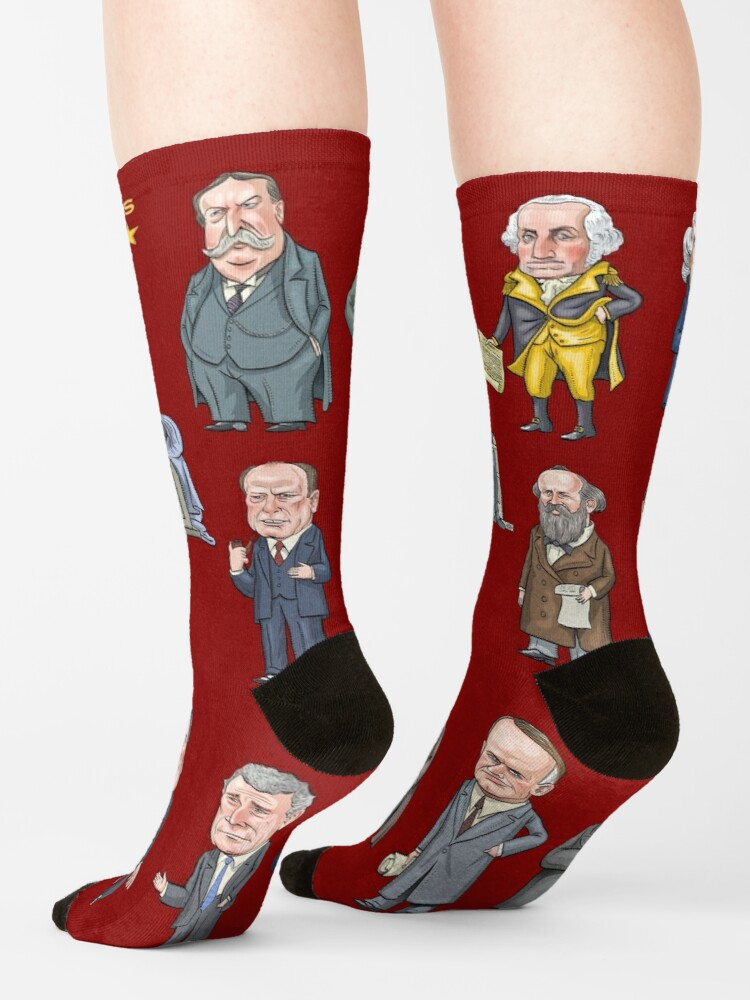 Alternate view of Republican Presidents of the United States Socks