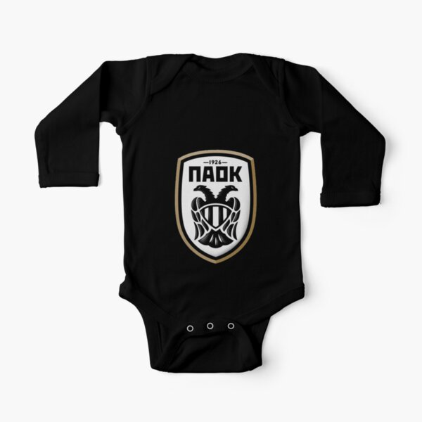 paok Long Sleeve Baby One-Piece