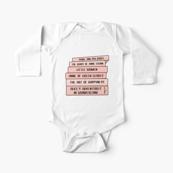 Best books ever  Long Sleeve Baby One-Piece