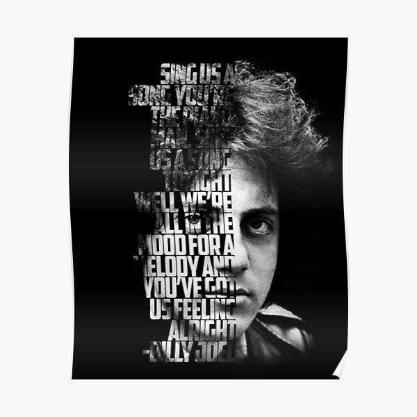 MUSIC POP ROCK IN THE WORD BILLY JOEL 03 Poster