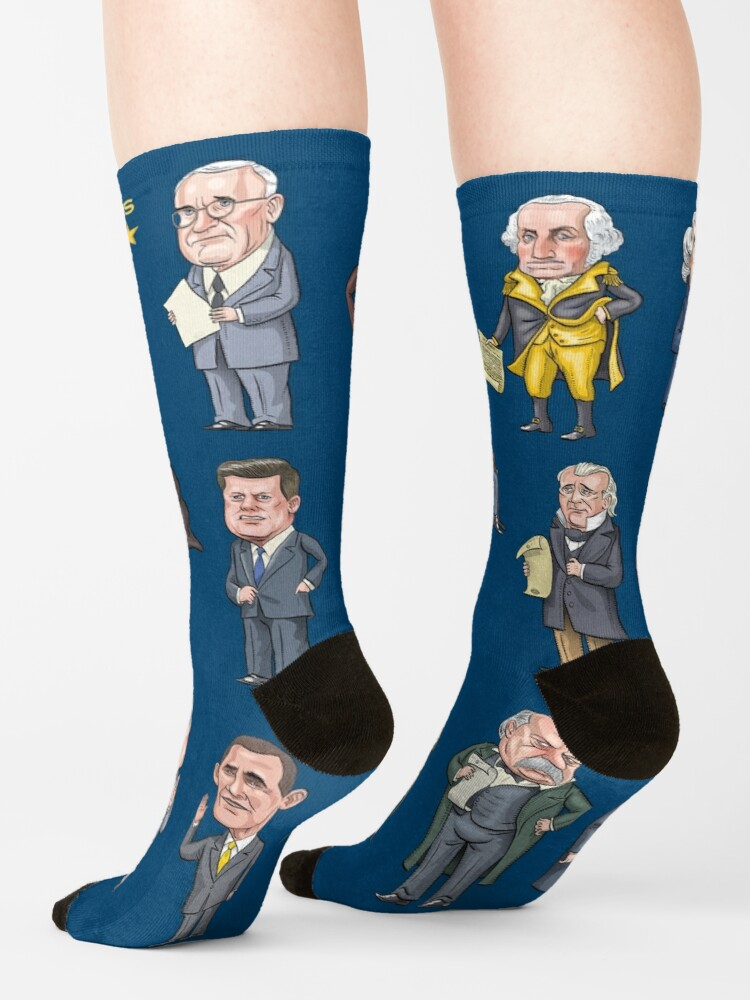 Alternate view of Democratic Presidents of the United States Socks