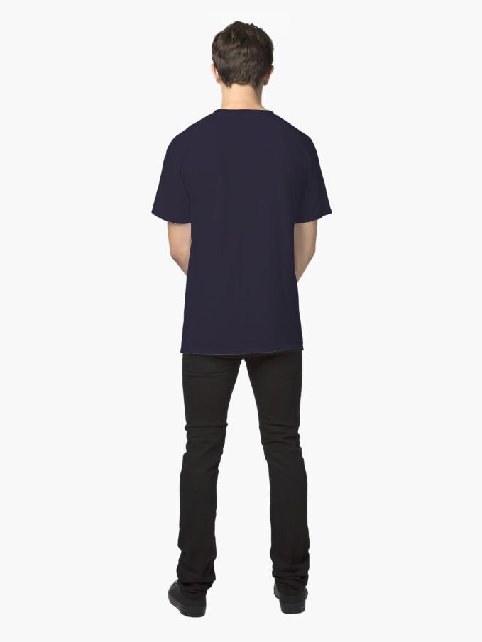 Alternate view of vegan strength Classic T-Shirt