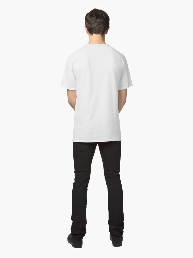 Alternate view of Figure with Bamboo Classic T-Shirt
