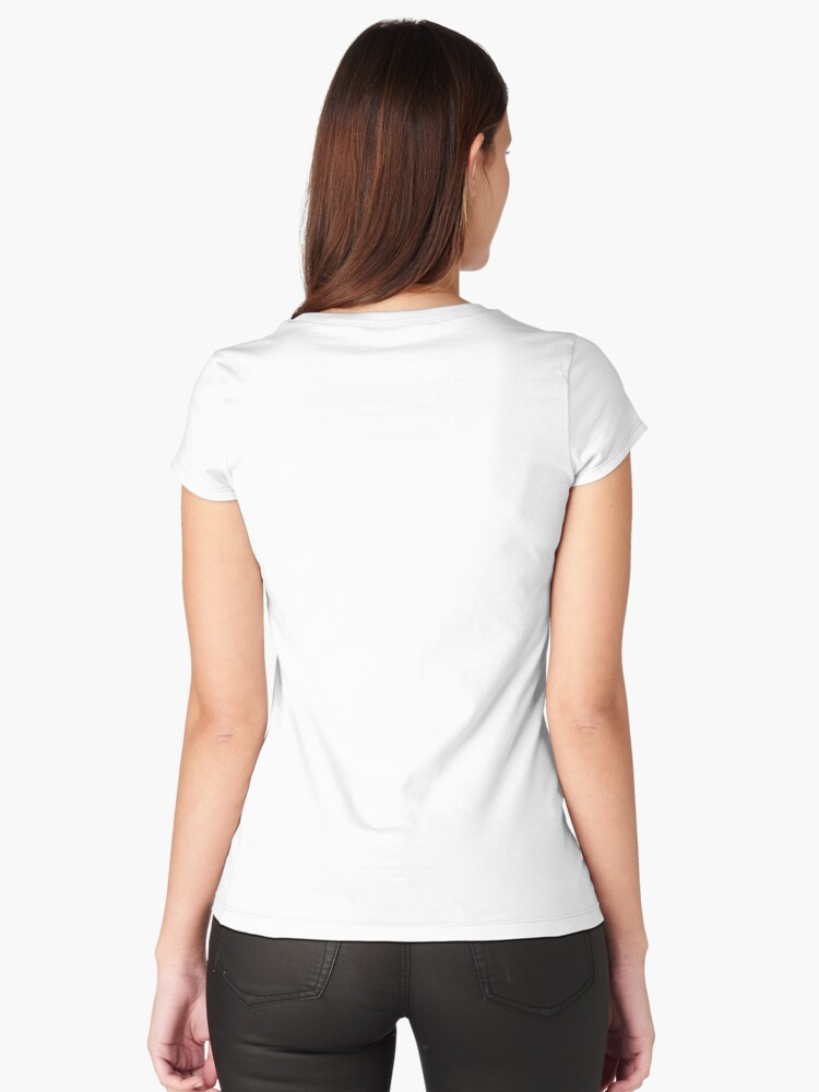 Alternate view of The Queerer Fitted Scoop T-Shirt