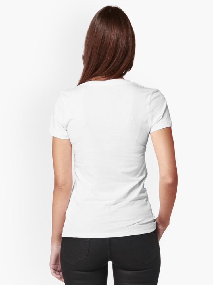 Alternative Ansicht von The Hug Tailliertes T-Shirt mit V-Ausschnitt