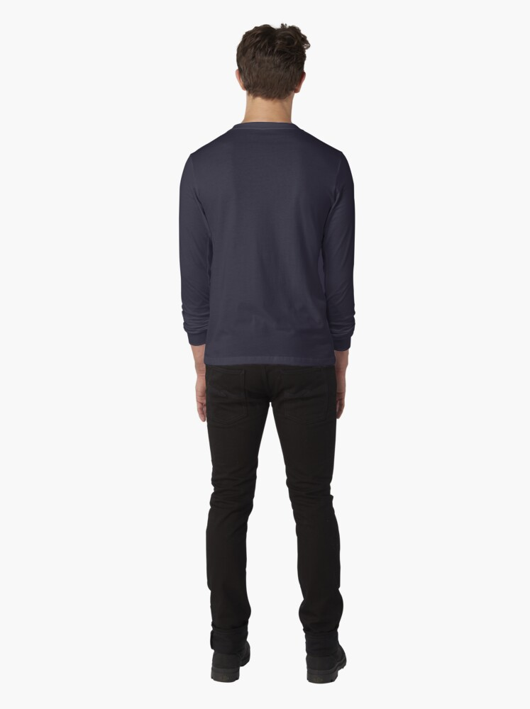 Alternate view of Angles of Textured Colors Long Sleeve T-Shirt
