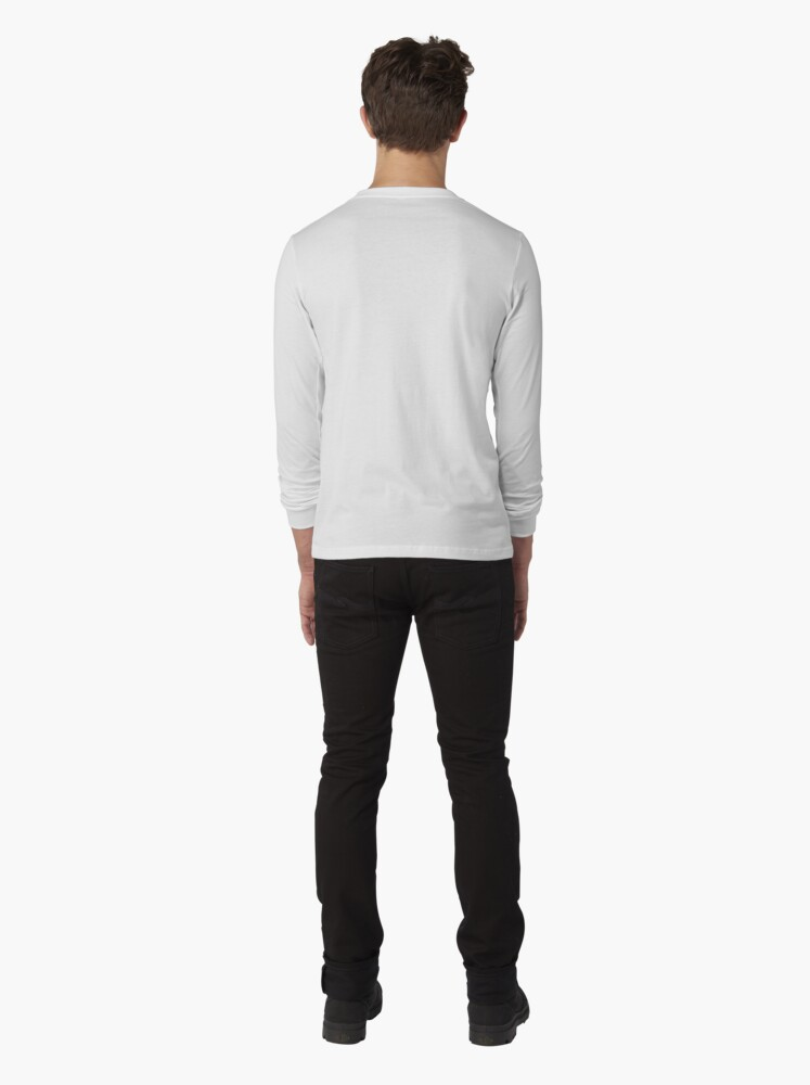 Alternate view of Abstract Landscape Art Long Sleeve T-Shirt