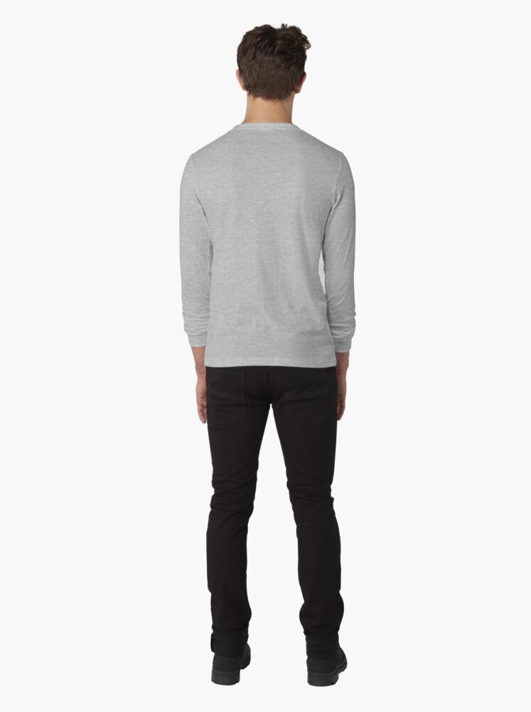 Alternate view of Regal Tuxedo Kitty Long Sleeve T-Shirt