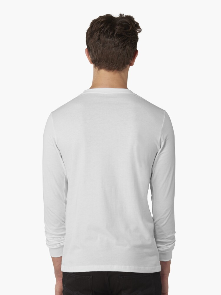 Alternate view of Giant Whales Long Sleeve T-Shirt