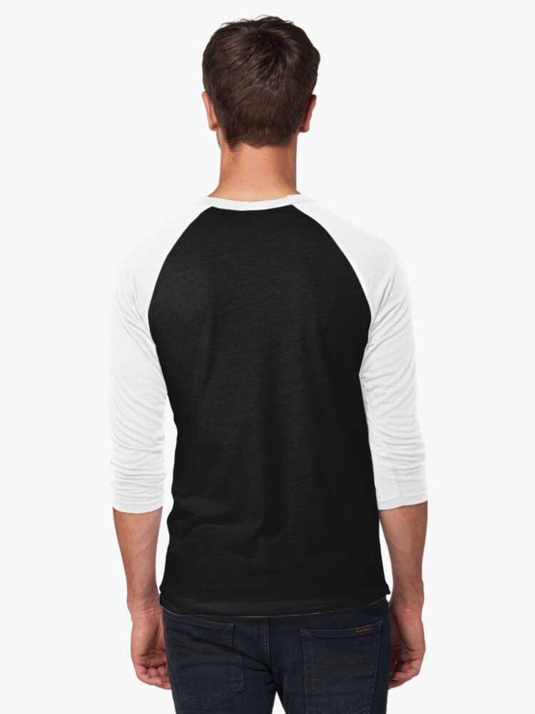 Alternate view of Elnini Baseball ¾ Sleeve T-Shirt