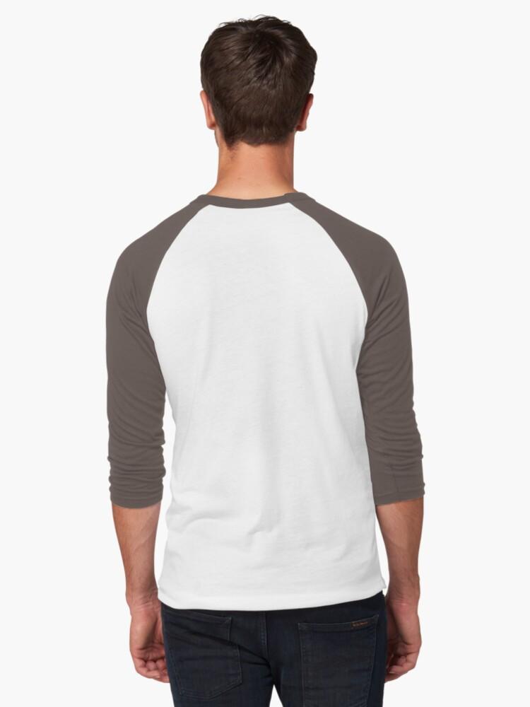 Alternate view of GoEaSyTwitch DpsOClock Baseball ¾ Sleeve T-Shirt