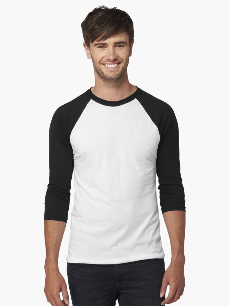 Alternate view of PokeGO Backpack Baseball ¾ Sleeve T-Shirt