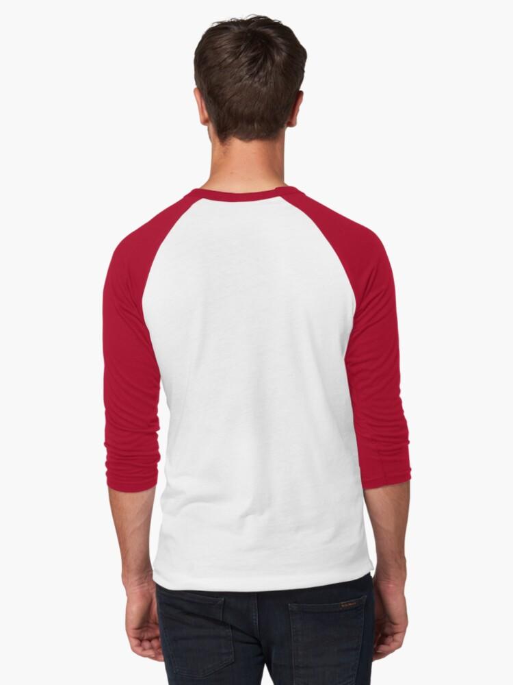 Alternate view of 42 tee Baseball ¾ Sleeve T-Shirt