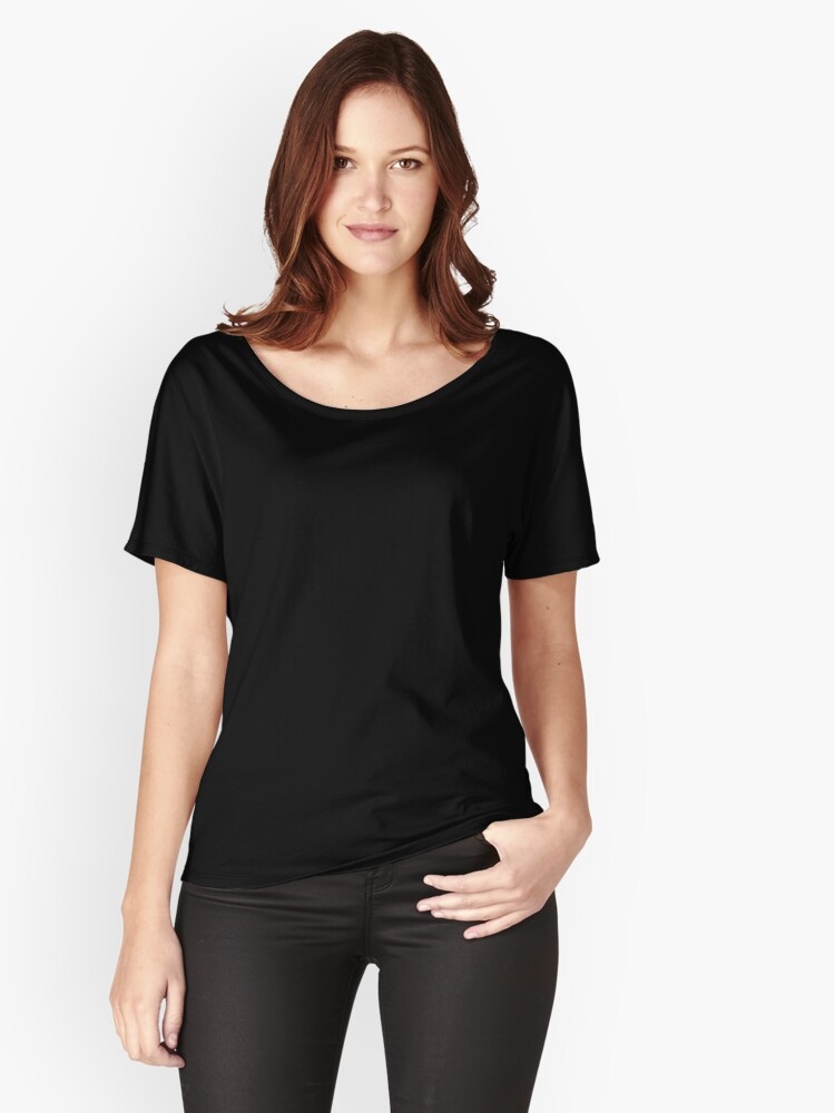 Alternate view of In the Mood, scribbled Relaxed Fit T-Shirt