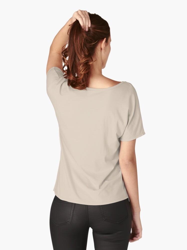 Vista alternativa de Camiseta ancha Confía en tu magia