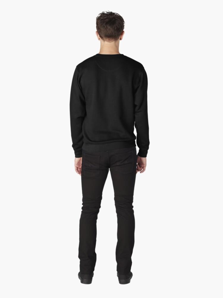 Alternate view of OCR Transparent Pullover Sweatshirt