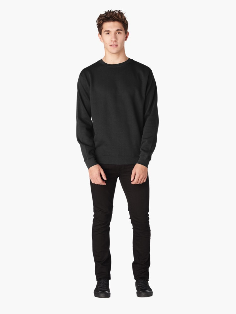 Alternate view of Spiral eight: cycles Pullover Sweatshirt