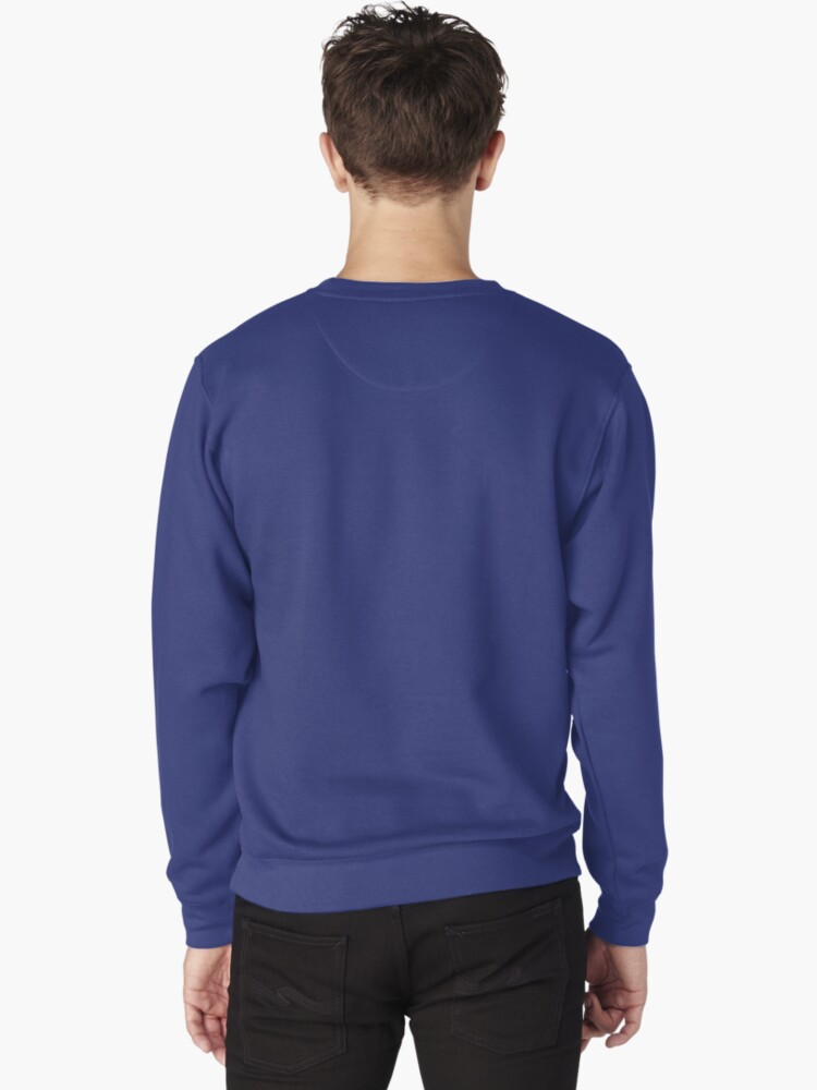 Alternate view of I WORK OUT (complex maths equations) Pullover Sweatshirt