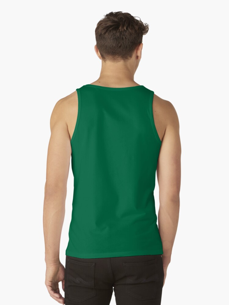 Alternate view of Jolly corgis in green Tank Top