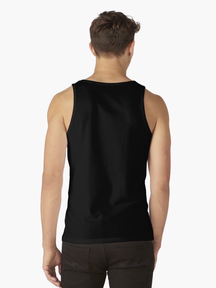 Alternate view of Death Rides A Black Cat Tank Top