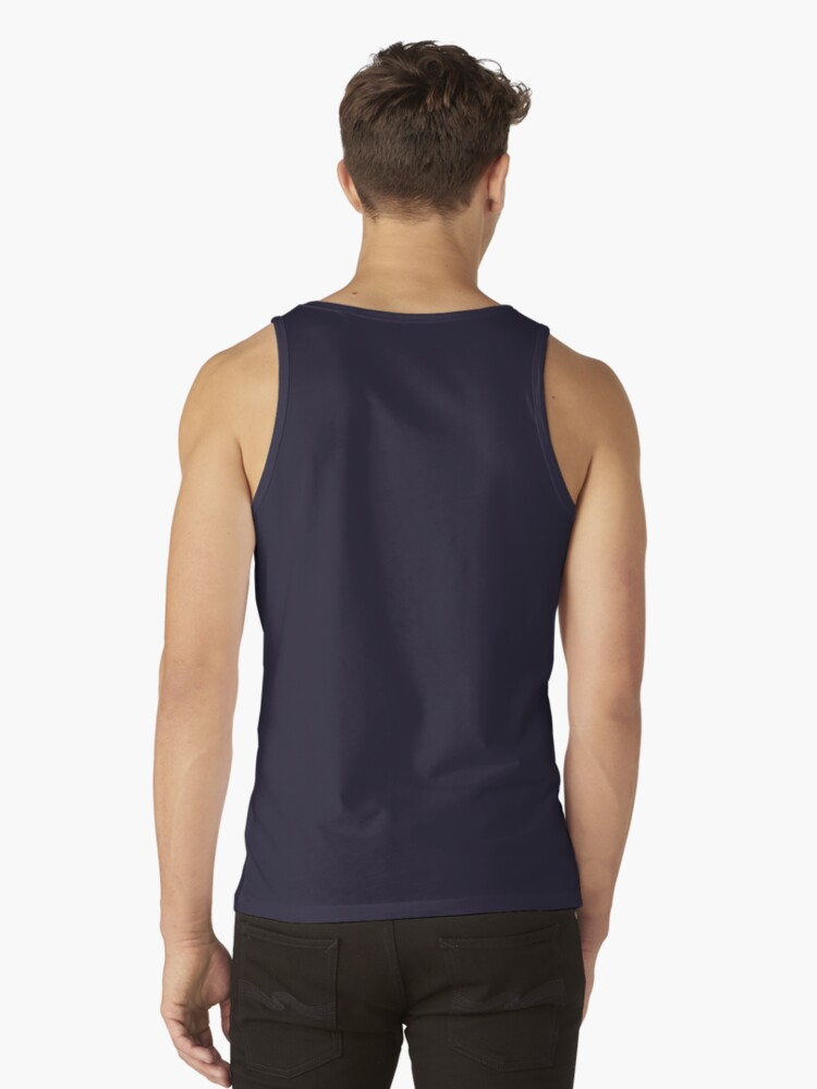 Alternate view of carnival mask of a housekeeper Tank Top