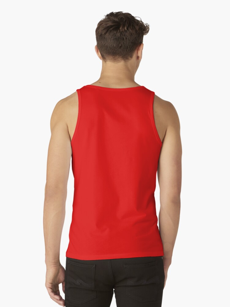 Alternate view of Orange prisoner costume Tank Top