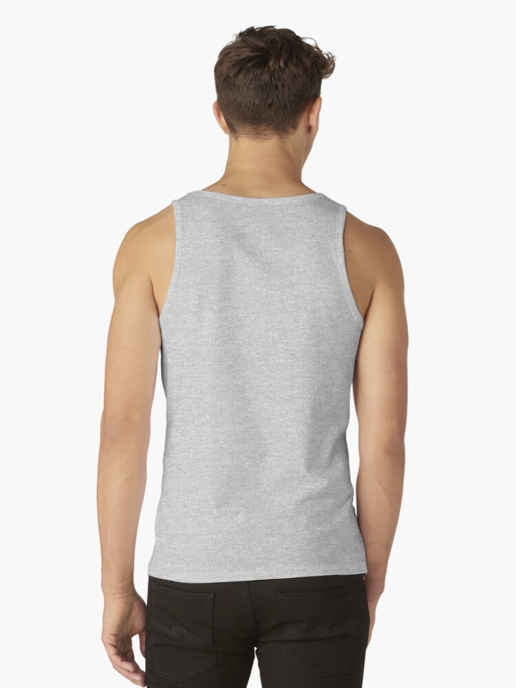 Alternate view of Black & White Cat Photo  Tank Top